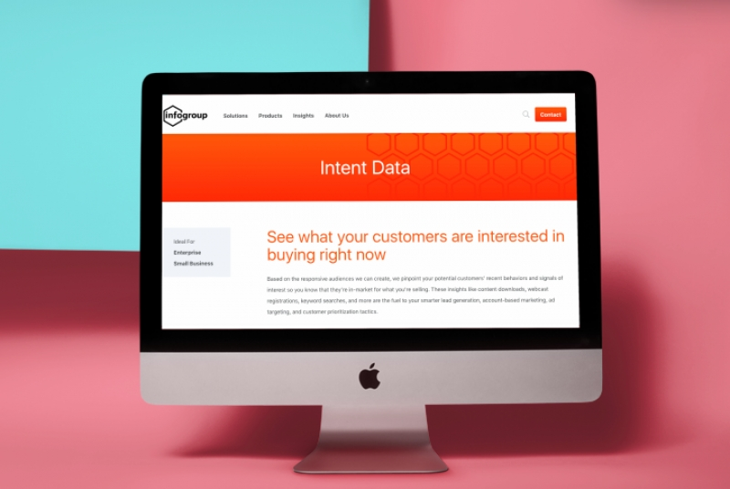 Infogroup Launches New Intent Data Capability