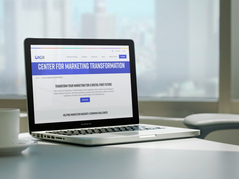 ON24 Launches Strategy Services for Marketing Transformation