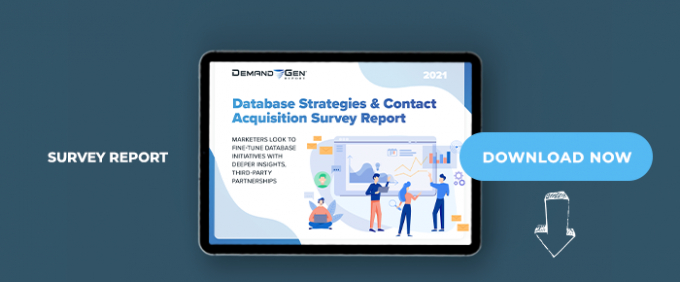 2021 Database Strategies & Contact Acquisition Survey Report:  Marketers Look To Fine-Tune Database Initiatives With Deeper Insights, Third-Party Partnerships