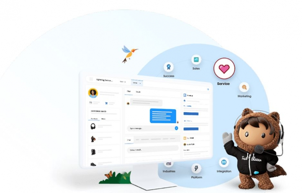 Salesforce Introduces New Version Of Service Cloud