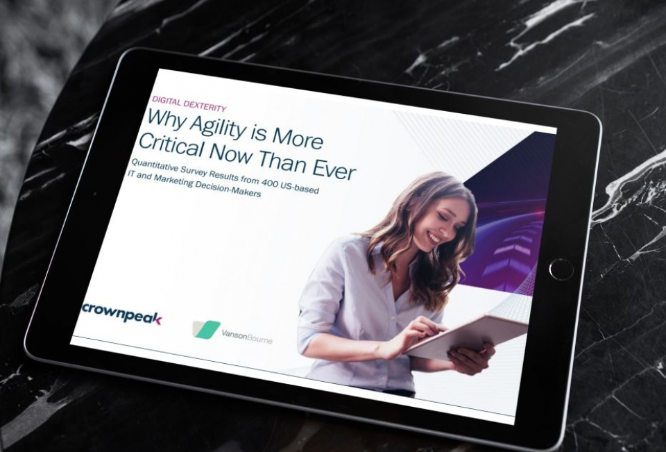 New Research: 94% Of Businesses Value Agility When Managing & Delivering Impactful Digital Experiences