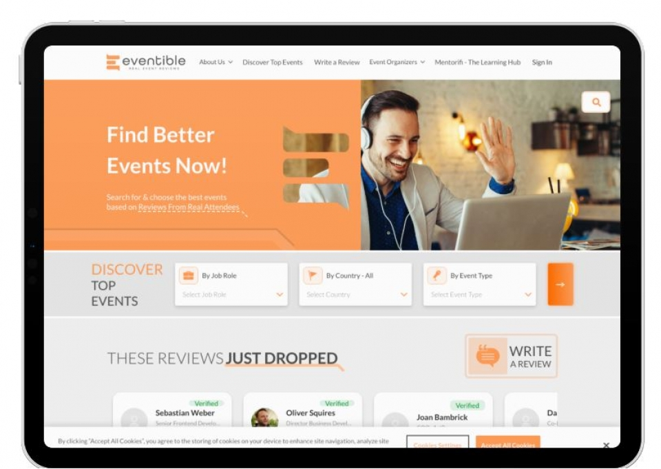 Eventible Launches New Platform For B2B Event Reviews