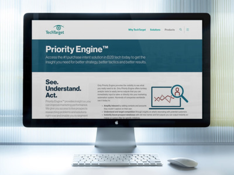 TechTarget Unveils Updates To Priority Engine Platform