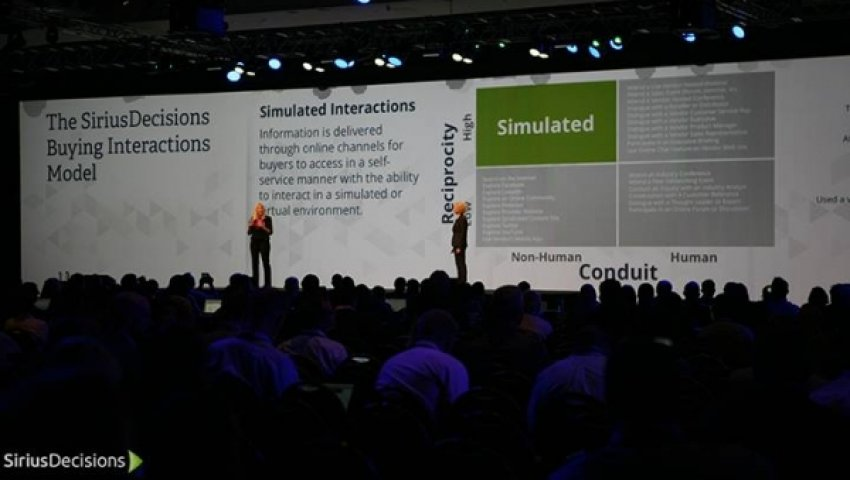 SiriusDecisions Summit 2015: B2B Buying Mythology Debunked